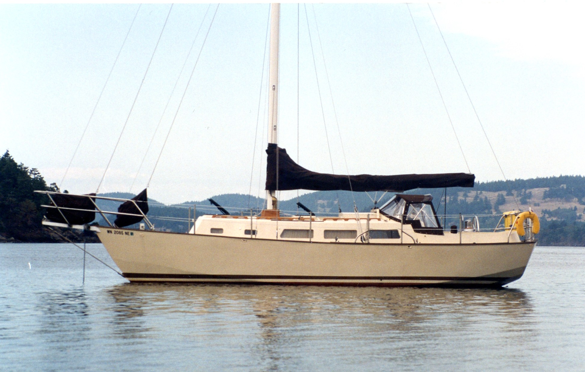 J Simpson Ltd Marine Designers And Consultants 33ft Steel Cutter Sloop